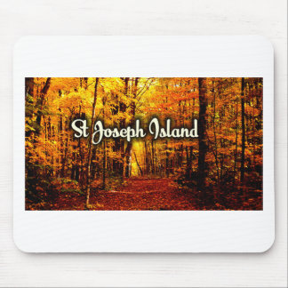 St Joseph Island fall beauty Mouse Pad