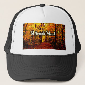 St Joseph Island fall beauty Trucker Hat