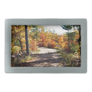 St Joseph Island Fall Path Belt Buckles
