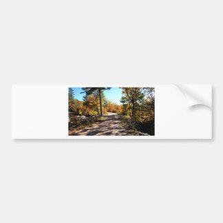 St Joseph Island Fall Path Bumper Sticker