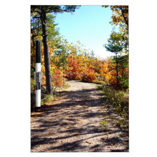 St Joseph Island Fall Path Dry Erase Board