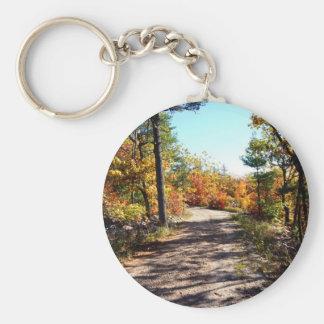 St Joseph Island Fall Path Keychain
