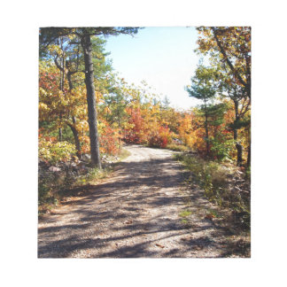 St Joseph Island Fall Path Notepad