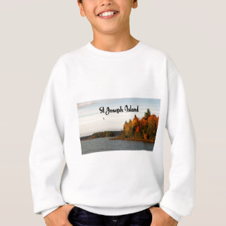 St Joseph Island lake view Sweatshirt