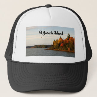 St Joseph Island lake view Trucker Hat