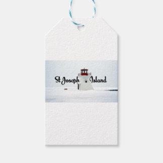 St Joseph Island lighthouse Gift Tags