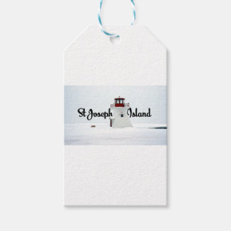 St Joseph Island lighthouse Pack Of Gift Tags
