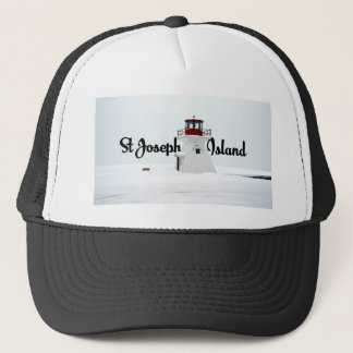St Joseph Island lighthouse Trucker Hat