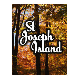 St Joseph Island Maple trees Letterhead