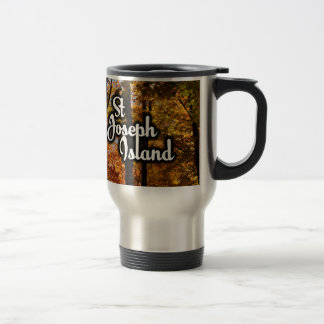 St Joseph Island Maple trees Travel Mug
