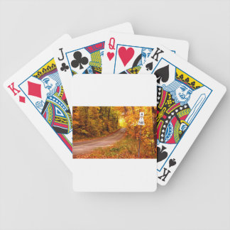 St Joseph Island Maples in Fall Colour Bicycle Playing Cards