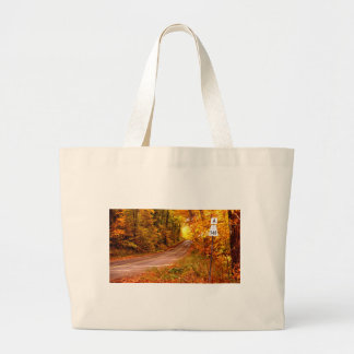 St Joseph Island Maples in Fall Colour Large Tote Bag
