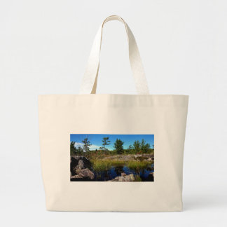 St Joseph Island northern Ontario Large Tote Bag
