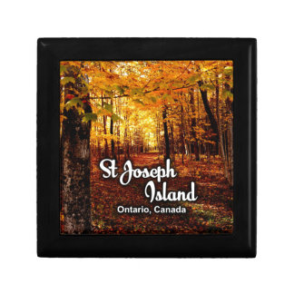 St Joseph Island, Ontario Canada Fall Gift Box