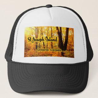 St Joseph Island, Ontario Canada Trucker Hat