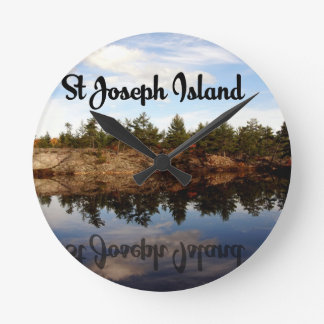 St Joseph Island reflections Clock