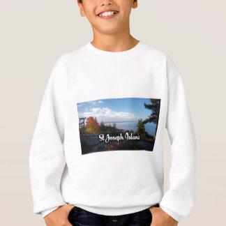 St Joseph Island view Sweatshirt