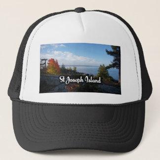 St Joseph Island view Trucker Hat