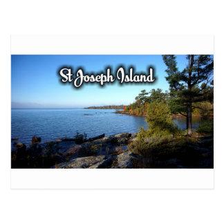 St Joseph Island views Postcard