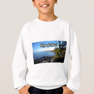 St Joseph Island views Sweatshirt