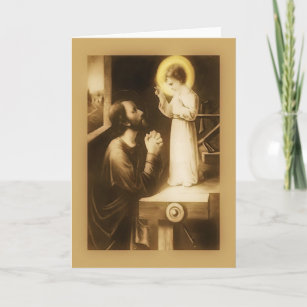 St josephs feast day cards zazzle ca st joseph march 19 feast day greeting card m4hsunfo