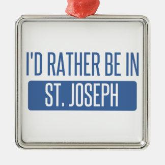 St. Joseph Metal Ornament
