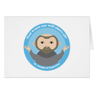 St. Joseph of Cupertino Greeting Card