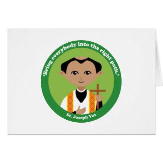 St. Joseph Vaz Card
