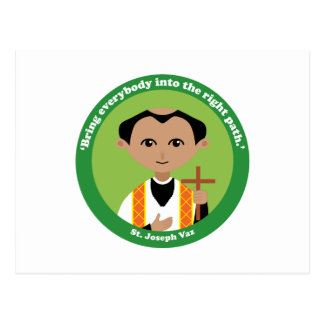 St. Joseph Vaz Postcard