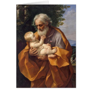 St. Joseph with Infant I Card