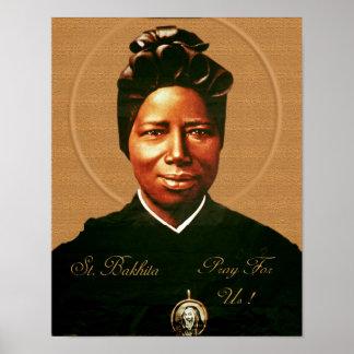 St. Josephine Bakhita. Poster