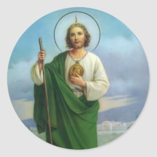St. Jude the Apostle Cousin of Jesus Classic Round Sticker
