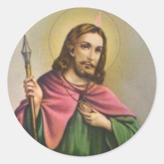 St. Jude the Apostle Cousin of Jesus Classic Round Sticker