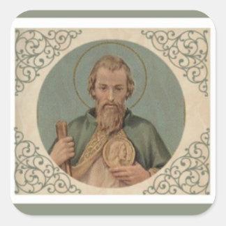 St. Jude the Apostle Cousin of Jesus Square Sticker