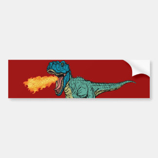 St Judeasaurus Rex by Steve Miller Bumper Sticker
