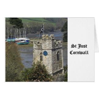 St Just Cornwall Card
