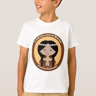 St. Kateri Tekakwitha Tshirts