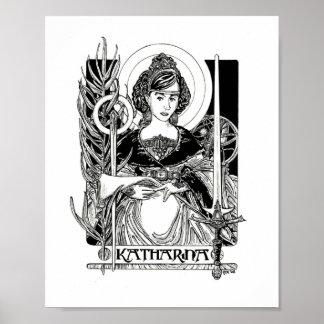 St. Katherine of Alexandria Poster