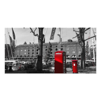 St katherine's Dock Photo Card