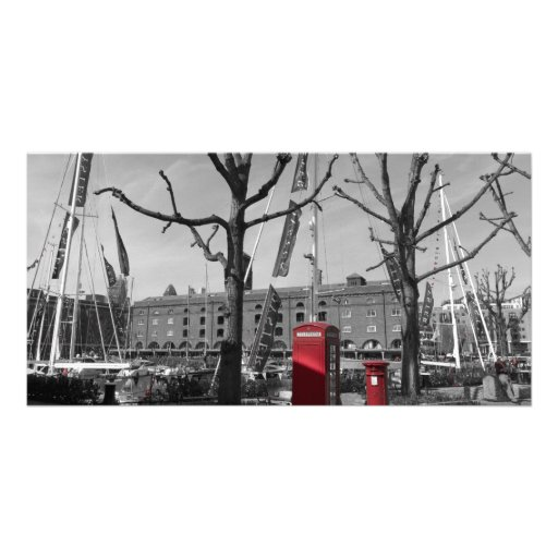 St Katherine's Dock Picture Card