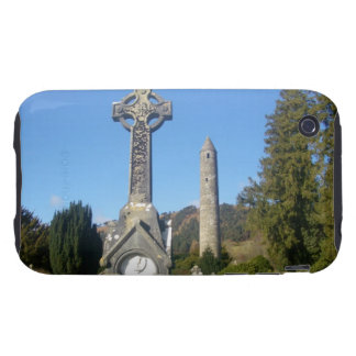 St Kevin's Cross and Round Tower Glendalough Tough iPhone 3 Cover