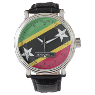 St.Kitts and Nevis Custom Name Watches
