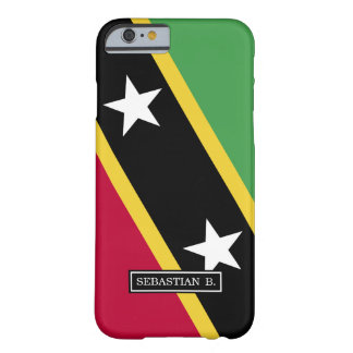 St Kitts and Nevis Flag Barely There iPhone 6 Case