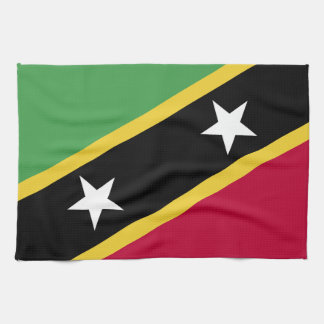 St Kitts and Nevis Flag Kitchen Towel