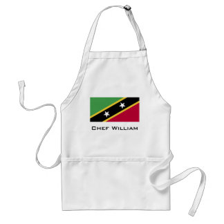 St. Kitts and Nevis Flag Standard Apron