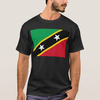 St Kitts and Nevis Flag T-Shirt