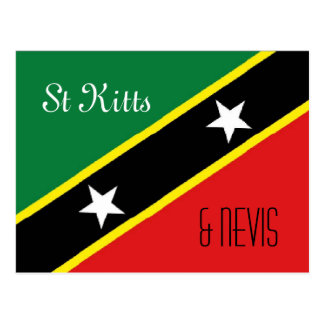St Kitts and Nevis postcard