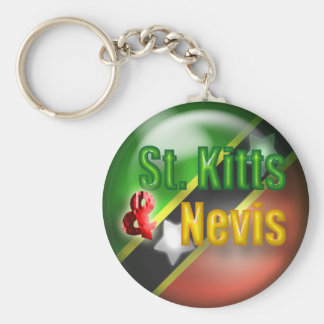 St. Kitts & Nevis Keychain