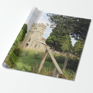 St Laurence Church, WInslow, Bucks, UK Wrapping Paper