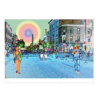 St Laurent Street Postcard
